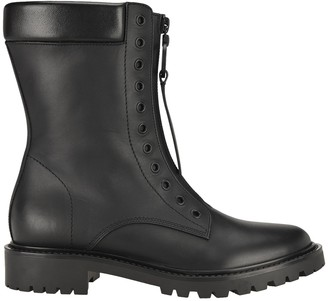 Christian Dior Zip-Up Combat Boots