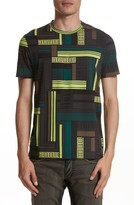 Versace Men's Allover Frame Print T-Shirt