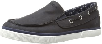 Nautica Boy's Doubloon Tumbled PU Loafer Flat