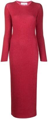 Ami Amalia Long Knitted Dress