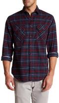 James Campbell Esme Plaid Regular Fit Shirt