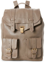 Proenza Schouler Taupe PS1 Leather Backpack