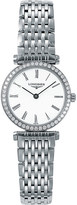 Longines L4.241.0.11.6 La Grande Classique diamond and stainless steel watch