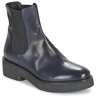 NOW NINEMILO women's Mid Boots in Blue