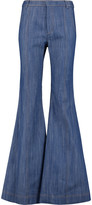 Derek Lam 10 Crosby Flare high-rise bootcut jeans