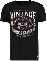 Blend of America SLIM FIT Print Tshirt black