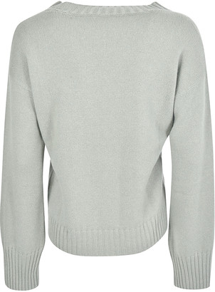 Saverio Palatella Wide-sleeved Ribbed Sweater