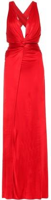 Dundas Satin gown