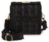 Simone Rocha Tweed Crossbody Bag - Black