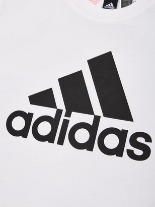 adidas Youth Badge Of Sport T-Shirt - White