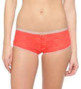 Xhilaration Women's All Over Lace Boyshorts