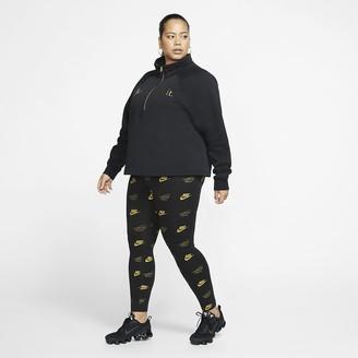 Nike Womens Printed Leggings (Plus Size Sportswear
