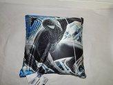 Marvel Spider Man 3 Reversible, Kids Room Pillow Oval Plush