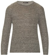 Alexander Wang Long-sleeved Linen T-shirt