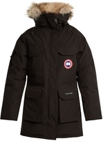 Canada Goose Expedition fur-trimmed down coat