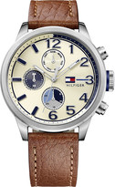 Tommy Hilfiger 1791239 stainless steel and leather watch