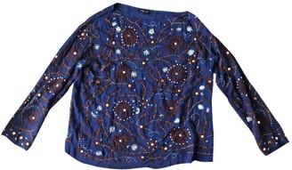 Antik Batik Blue Top for Women