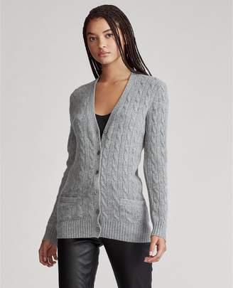 Ralph Lauren Cable-Knit Cashmere Cardigan