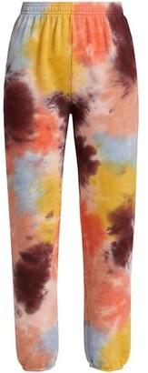 Monrow Tie-Dye Sweatpants