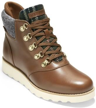 Cole Haan Nantucket Rugged Leather Waterproof Hiker Boot