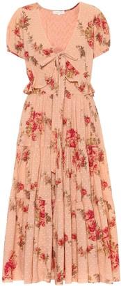 LoveShackFancy Carlton floral cotton dress