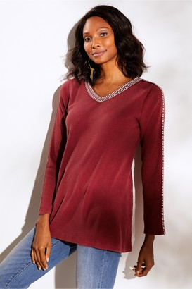 Petites Inkwell Pullover