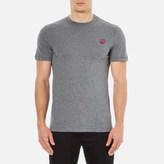McQ by Alexander McQueen Men's Short Sleeve Crew TShirt - Stone Grey Melange
