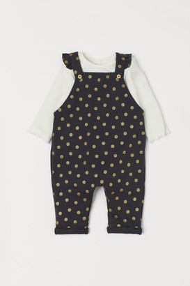 H&M Overalls and Top