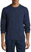 Etro Paisley Wool Crewneck Sweater