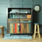 The Orchard Furniture Mariner Two Drawer Two Door Two Shelf Sideboard
