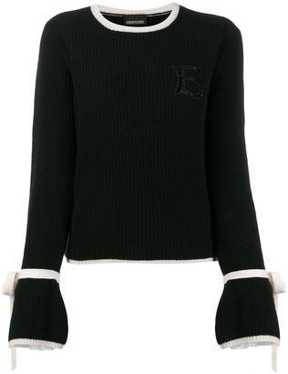 Ermanno Ermanno Rib Knit Sweater