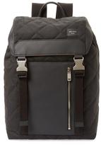 Jack Spade Quilted Waxwear Backpack