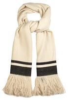 Isabel Marant Cover fringed cashmere scarf