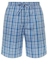 Derek Rose Barker Pipe Check Lounge Shorts