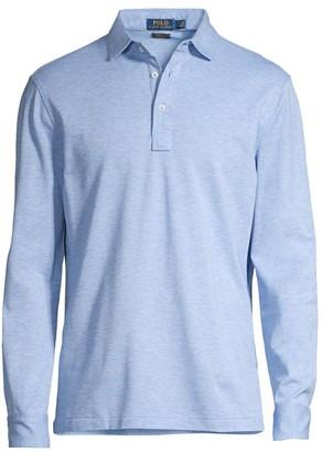 Polo Ralph Lauren Custom-Slim Fit Mesh Shirt
