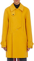 Cédric Charlier Women's Double-Breasted Peacoat-YELLOW