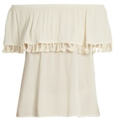 Velvet by Graham & Spencer Dominga off-the-shoulder top