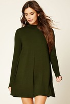 Forever 21 High Neck Shift Dress