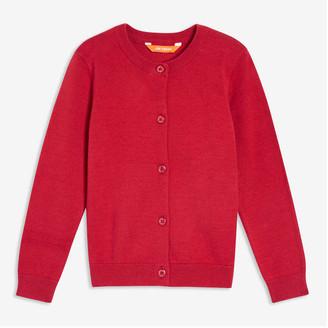 Joe Fresh Toddler Girls' Cardi, Red (Size 2)