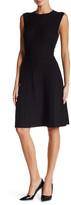 Anne Klein Pleated Midi Dress