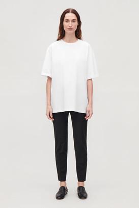 Cos Oversized Round-Neck T-Shirt