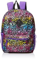 Accessories 22 Girls' Splatter Zebra 5pc Backpack Set
