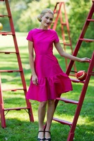 Shabby Apple Cerise Dress Pink PP