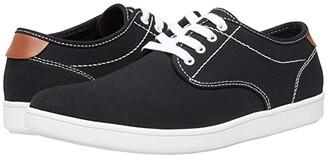 Steve Madden Fenta (Black Canvas) Men's Lace up casual Shoes