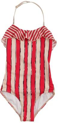 Emporio Armani Striped Lycra One Piece Swimsuit