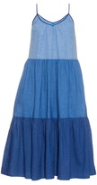 MiH Jeans Sunset tiered linen and cotton-blend dress