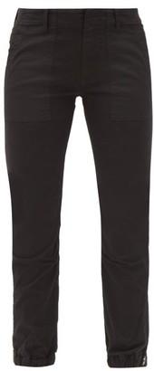 Nili Lotan Cropped-leg Cotton-blend Twill Trousers - Black
