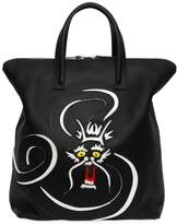 Bonastre Dragon Vegetable Tanned Leather Tote Bag