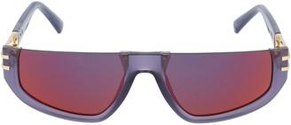 Diesel Tinted Frameless Top Sunglasses