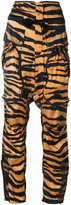 Faith Connexion tiger print trousers